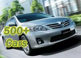 Rent a Car Pakistan for Lahore, Islamabad, Murree, Kashmir and Naran Low Rates